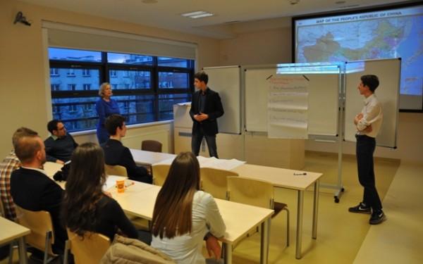 Komunikacja z Chińczykami- warsztat dla studentów SGH